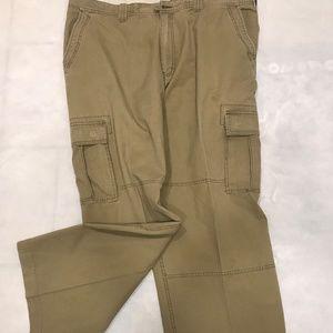 Old Navy Big Men's Khaki Cargo Pants